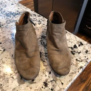 Sam Edelman suede ankle boots Petty 10
